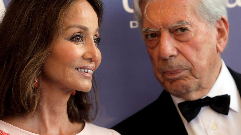 Foto: Isabel Preysler y Mario Vargas Llosa en una foto reciente. (EFE)