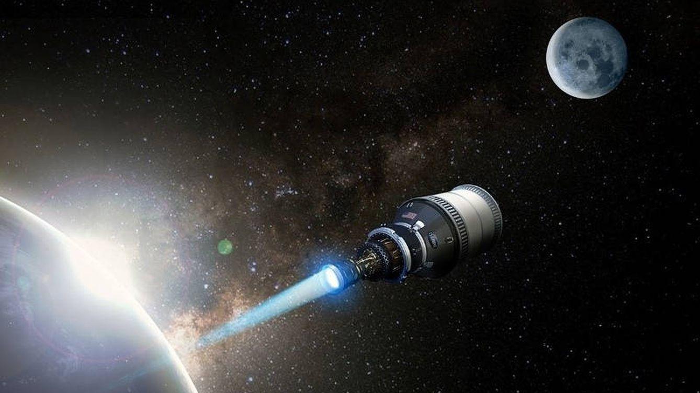Una nave atómica americana orbitará la Tierra en 2025