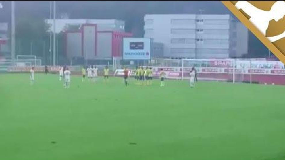 El primer gol de Xavi Hernández con el Al-Sadd