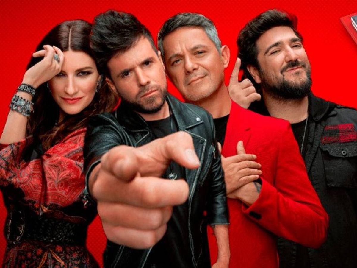 Foto: Coaches de 'La voz 2020'. (Atresmedia Televisión)