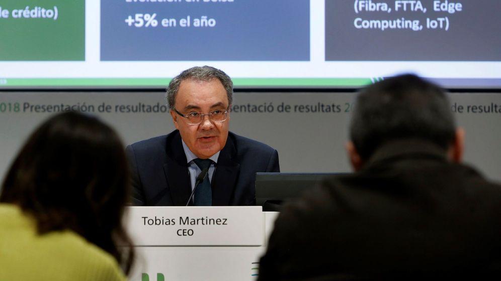 Foto: El consejero delegado de Cellnex, Tobías Martínez. (EFE)