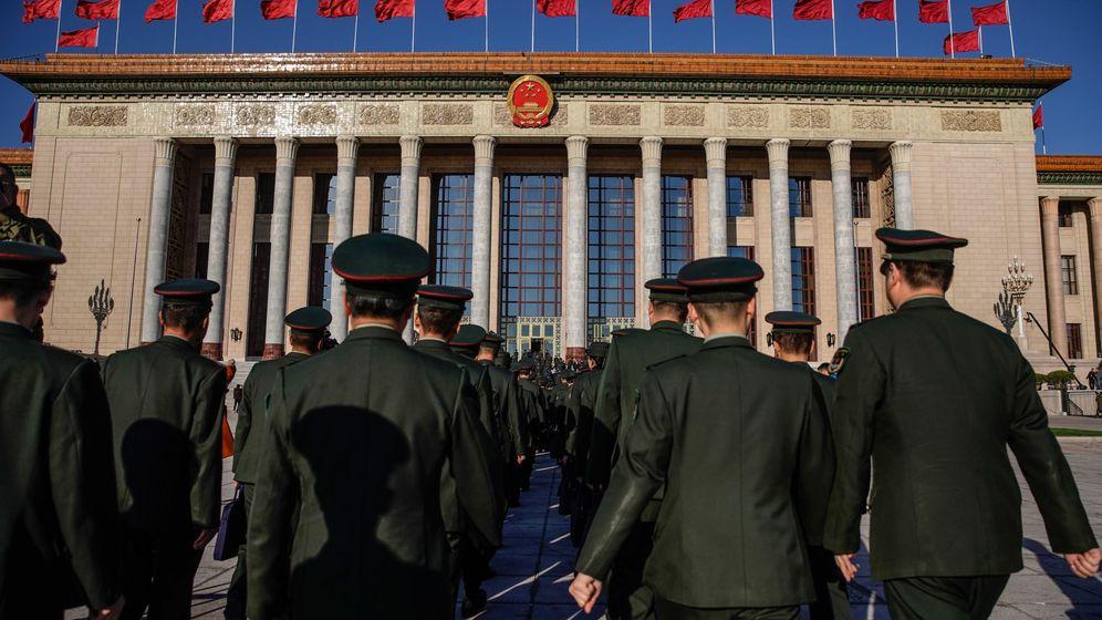 Foto: Ceremonia de clausura de la Asamblea Nacional Popular el año pasado (EFE)