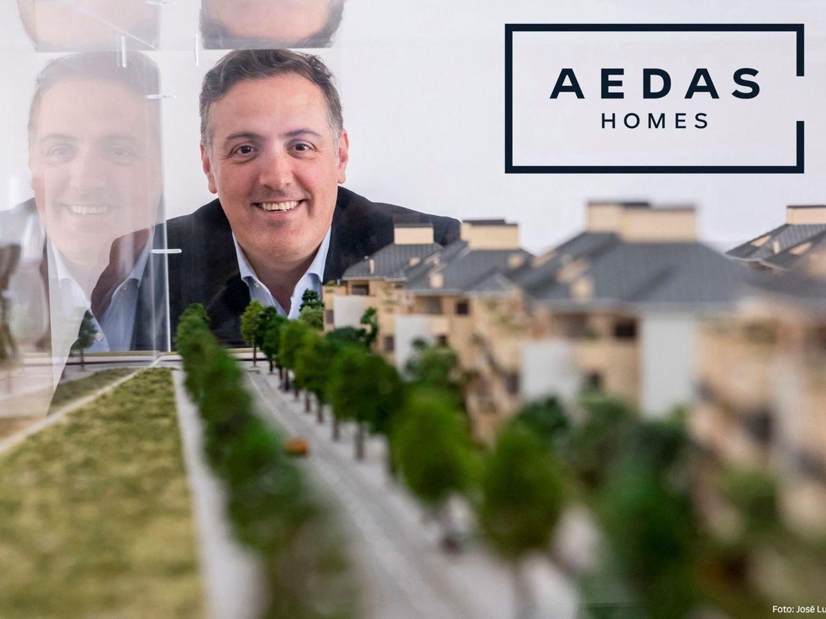 Foto: El consejero delegado de la promotora inmobiliaria Aedas Homes, David Martínez