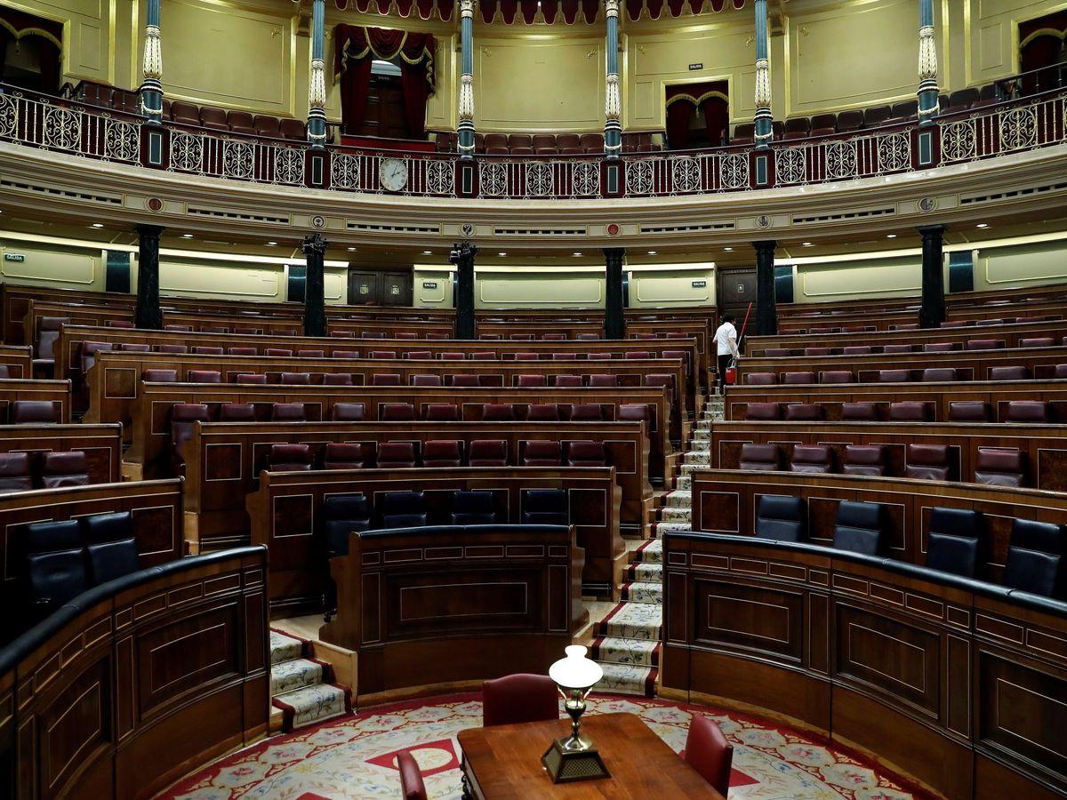 Foto: Pleno del Congreso de los Diputados. (EFE)