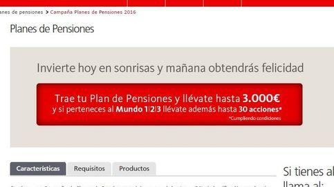 Debería estar prohibido regalar dinero por hacerse un plan de pensiones