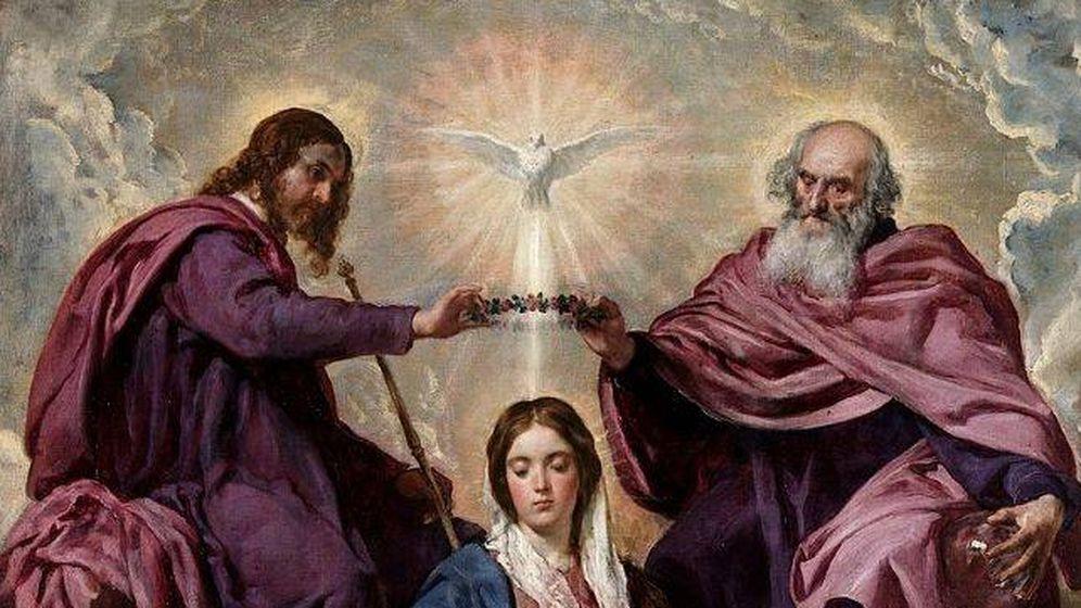 Foto: 'La Coronación de la Virgen' (1645), de Diego Velázquez. (C.C.)