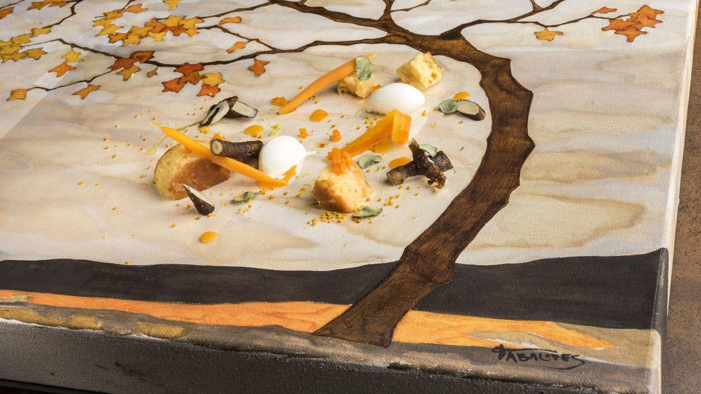 Foto: Cocina con el polen.