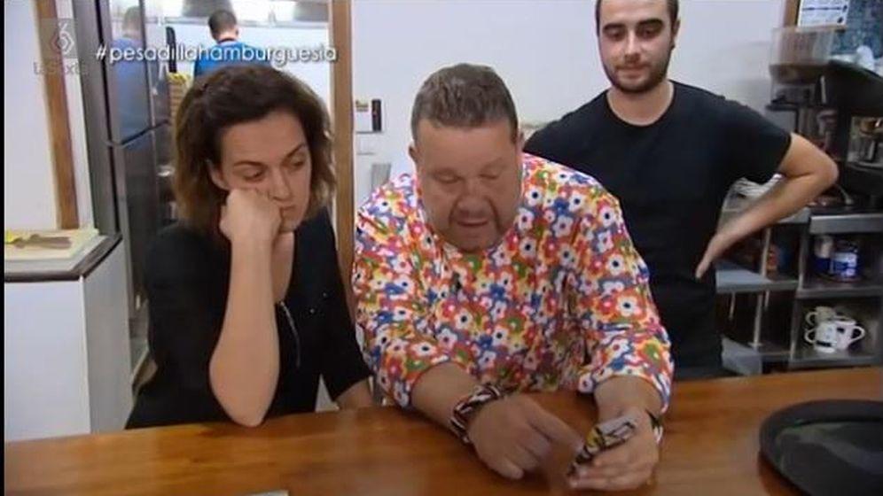 Foto: Una imagen del último programa de Chicote (captura de pantalla)