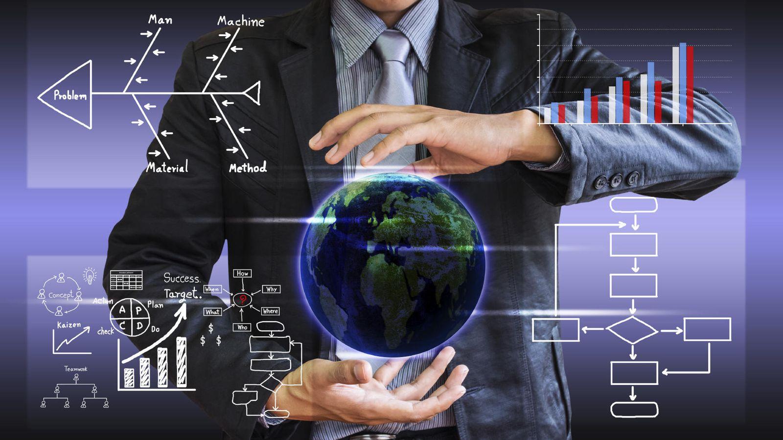 Foto: ¿Tiene el hombre el mundo en sus manos o, más bien, son los datos quienes manejas al hombre? (iStock)