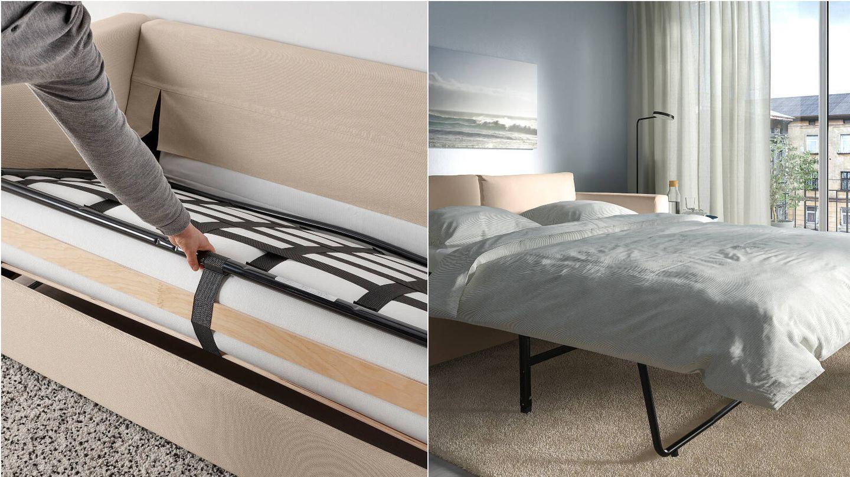 El nuevo sofá cama de Ikea. (Cortesía)