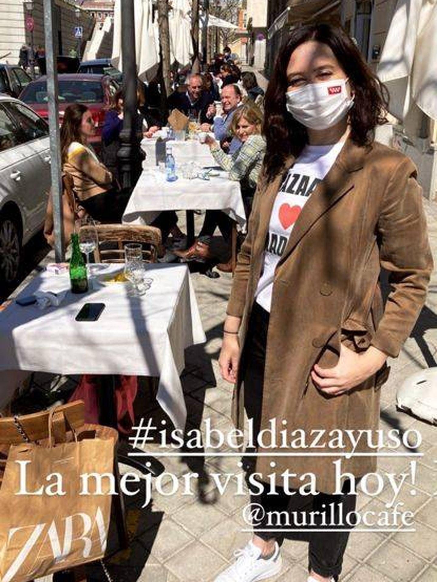 El look de Isabel Díaz Ayuso. (Redes)
