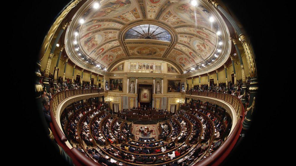 Foto: Sesión constitutiva de las nuevas Cortes Generales. (EFE)