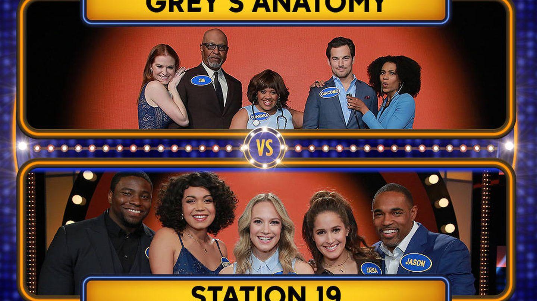 El reparto de 'Anatomía de Grey' contra el de 'Estación 19'.
