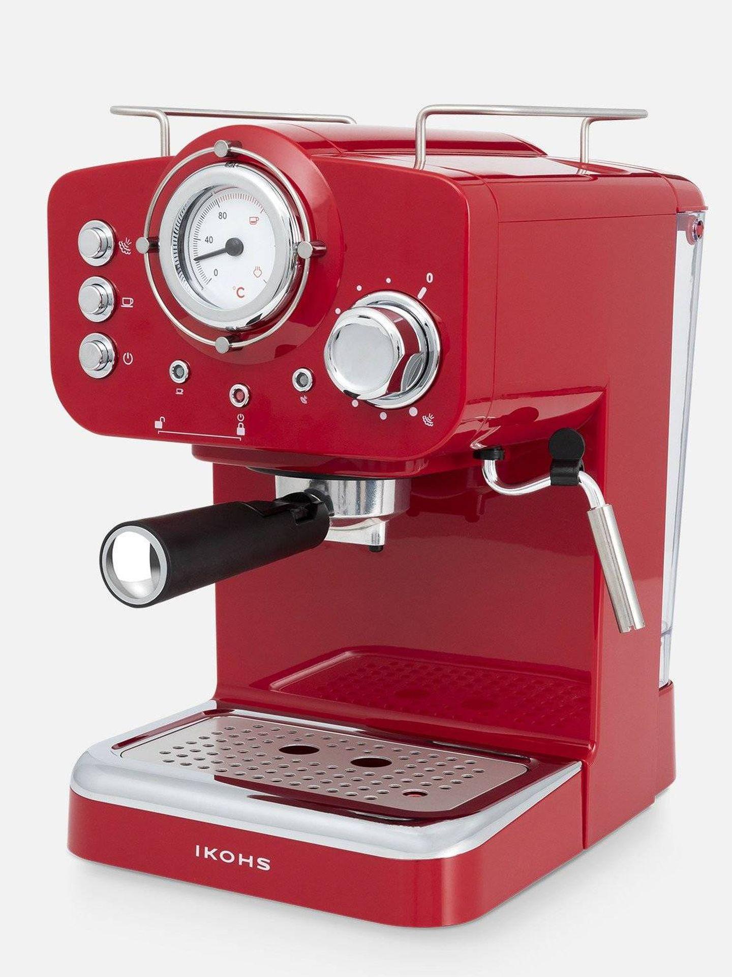 Cafetera express de Ikohs. (Cortesía)