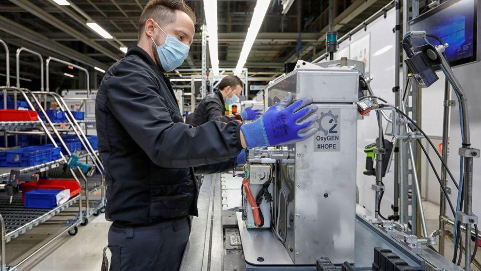 ¿Reindustrializar para hacer mascarillas? Suelo hay, pero el 'made in Spain' saldrá caro
