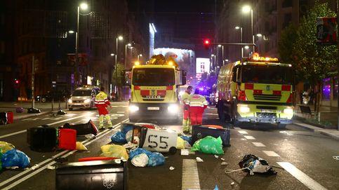 Los disturbios en Madrid se saldan con 33 detenidos y 3 policías heridos