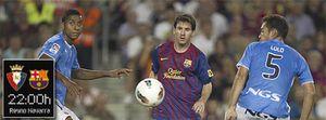 Foto: Inagotable Messi: no descansa ni el trámite copero ante Osasuna