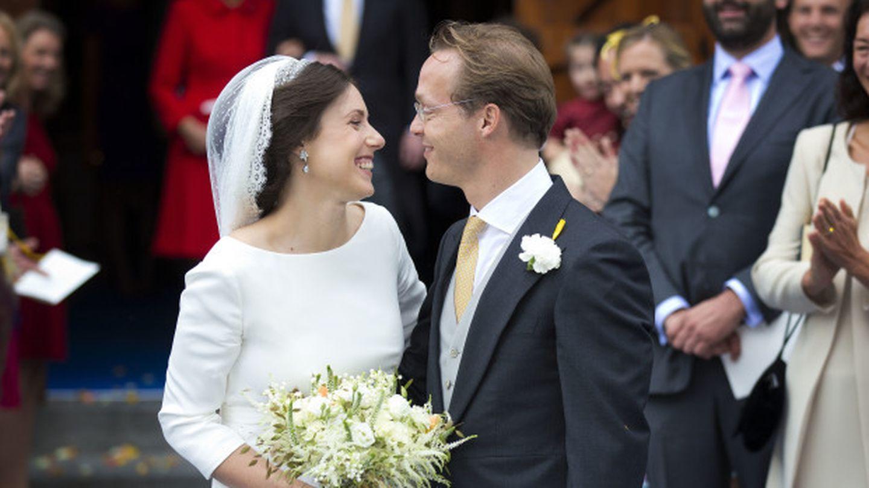 Una imagen del día de la boda (I. C)