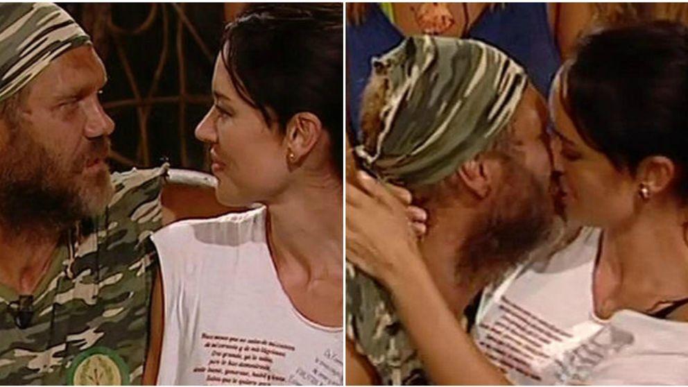 'Supervivientes' - Franceska Jaimes se come a besos a su marido, Nacho Vidal
