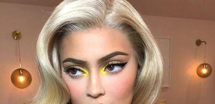Post de Maquillaje a tope de fluor, por Kylie Jenner