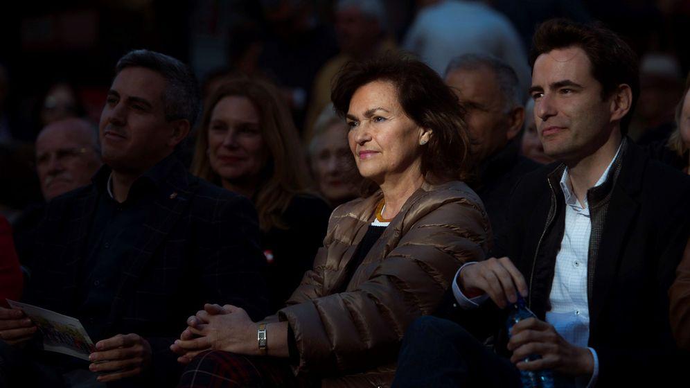 Foto: La vicepresidenta del Gobierno de España, Carmen Calvo (Efe)