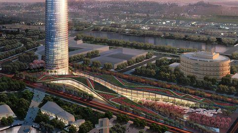 La Torre de Sevilla tiene 12 plantas sin ocupar a un día de su presentación