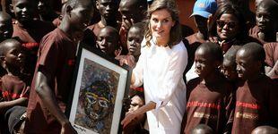 Post de Todos los detalles del último look de la reina Letizia en Senegal