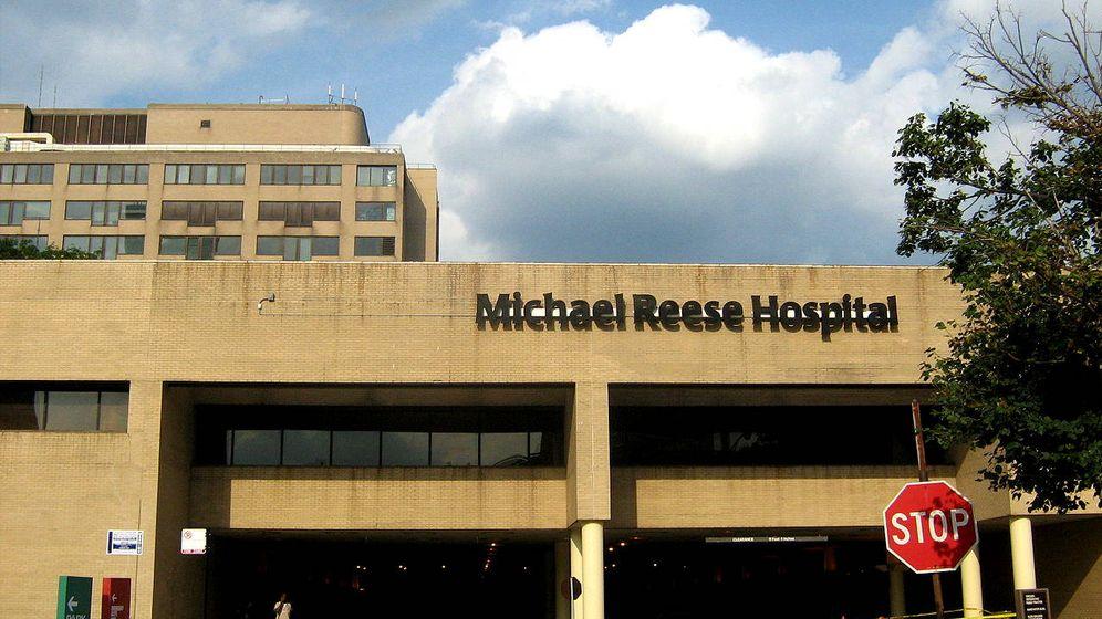 Foto: El Hospital Michael Reese de Chicago donde fue robado Paul Fronczak hace 55 años (Foto: Wikipedia)
