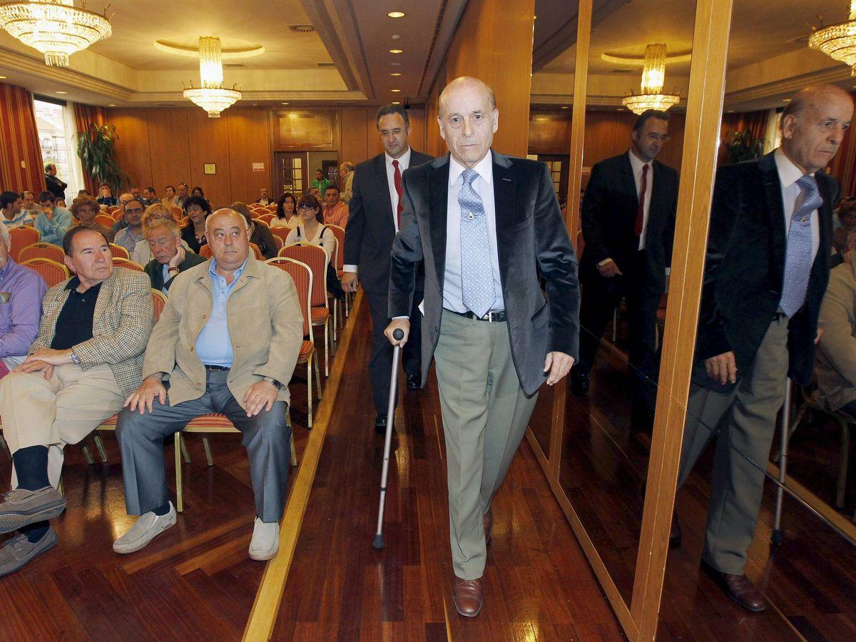 Foto:  El expresidente de Cantabria Juan Hormaechea. (EFE)