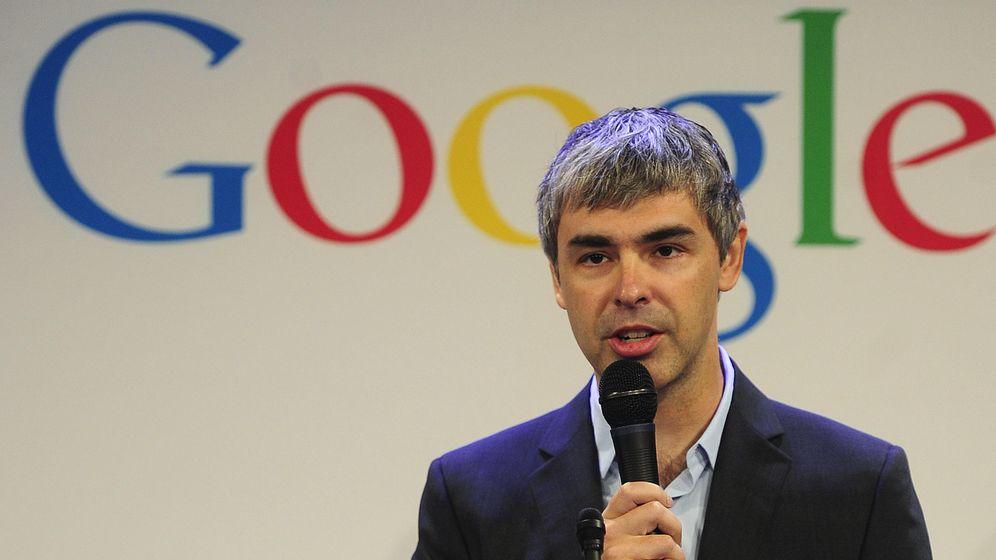 Foto: El cofundador de Google, Larry Page