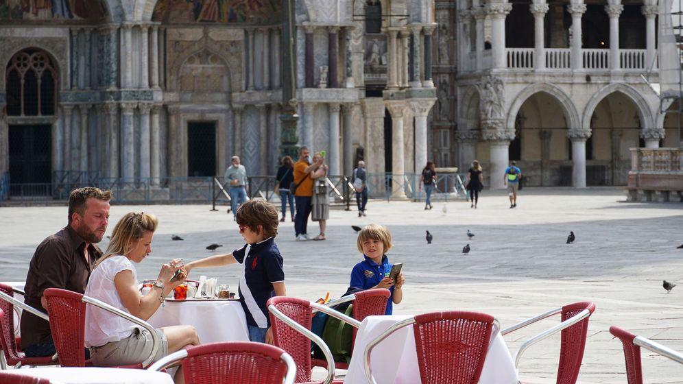 Foto: Turistas en Venecia. (EFE)
