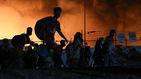 El campo de refugiados de Moria (Grecia) queda destruido en un incendio