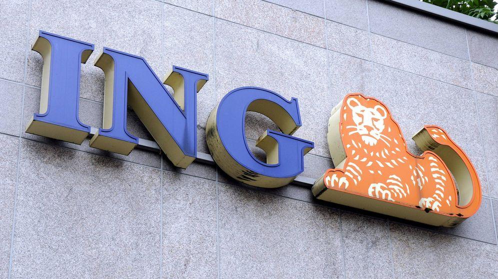 Foto: Fachada de la sede de ING en Fráncfort. (EFE)