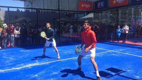 Novak Djokovic, ¿estrella del pádel?