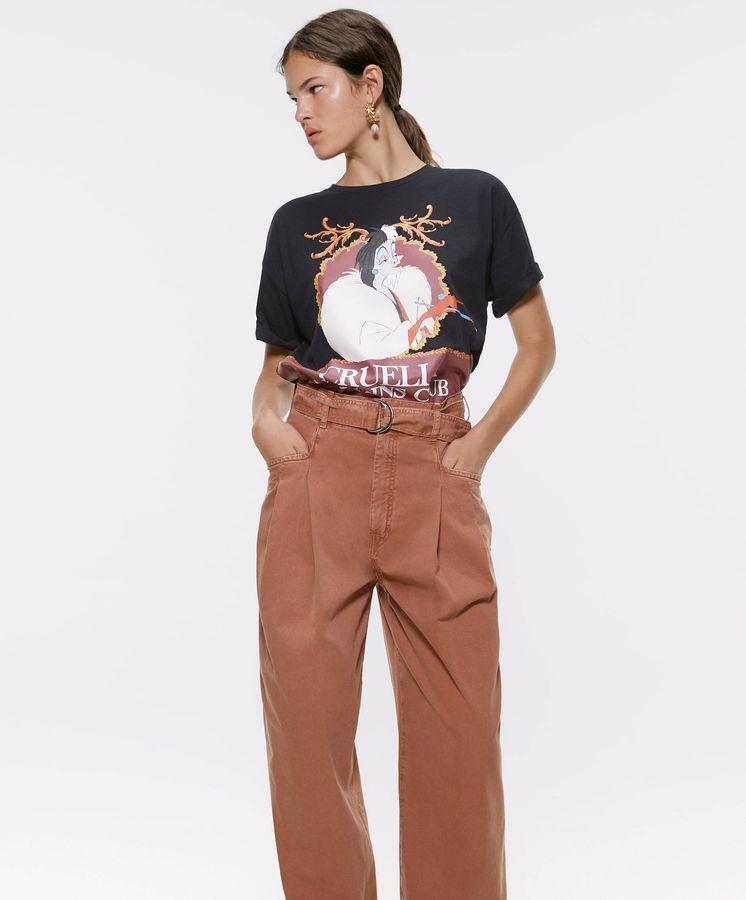 Foto: La maldad está en esta camiseta de Zara y nos encanta. (Cortesía)