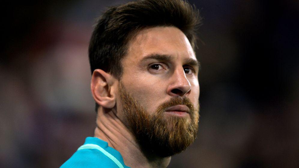Foto: Leo Messi, durante el partido de Copa contra el Athletic en Bilbao. (REUTERS)