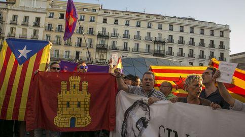 Mucha pasión y poca movilización: el apoyo al 1-0 no llena la Puerta del Sol