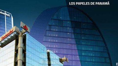 Santander, BBVA y Sabadell ayudaron a clientes a crear sociedades en Panamá