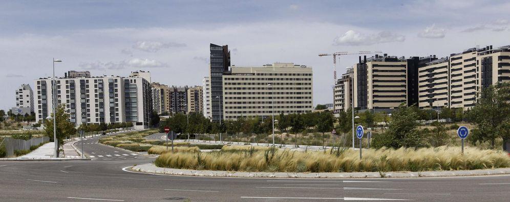 Foto: Desarrollo urbanístico de Valdebebas.