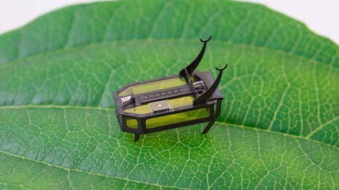 Este insecto robot, uno de los más pequeños del mundo, se mueve con metanol