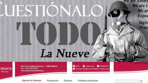 Anonymous 'hackea' la Cámara de Comercio de Madrid y accede a todos sus datos