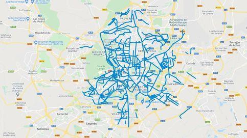 El mapa de la nieve en Madrid: consulta qué calles están limpias en tiempo real