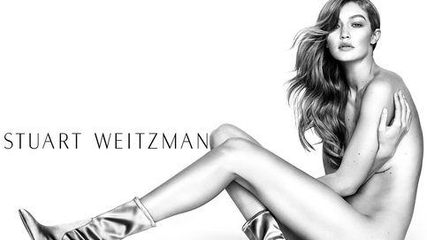 Gigi Hadid en la campaña Primavera-Verano 2017 de Stuart Weitzman