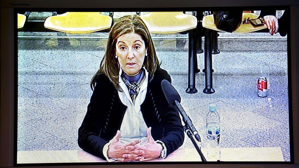Foto: Declaración de Rosalía Iglesias, esposa de Luis Bárcenas. (EFE)