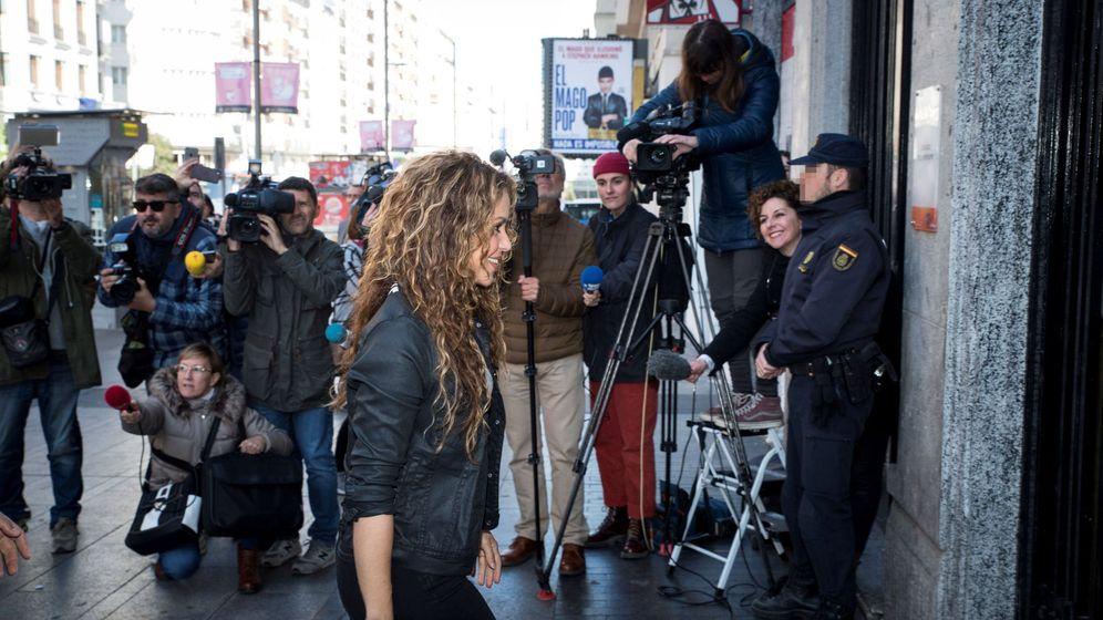 Foto: Shakira declara por la demanda de plagio de la canción 'La bicicleta'. (EFE)
