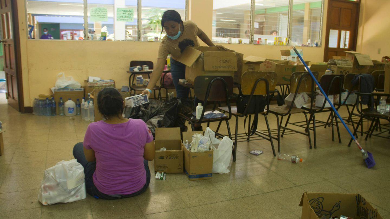 Litzi Nicole, estudiante de la Universidad Politécnica de Managua. (H. Estepa)