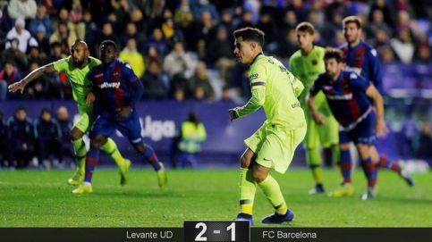 La decepción de Coutinho dentro de la chapuza del Barcelona