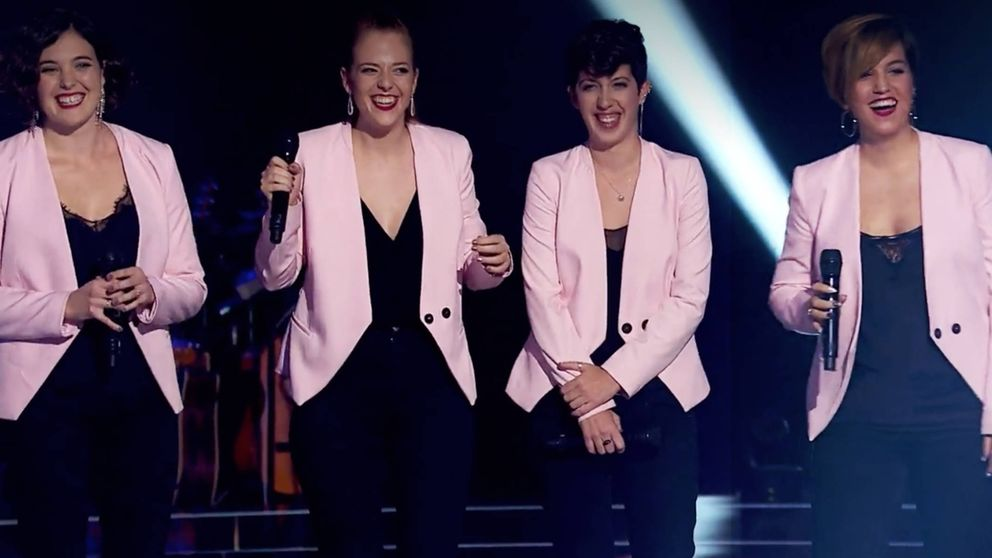 Les Fourchettes, primer cuarteto de 'La Voz' que se unió al poder de Paulina