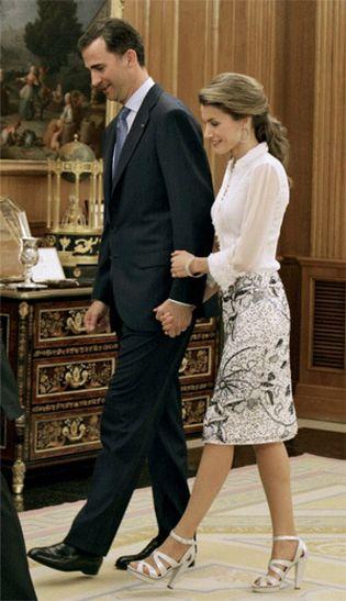 Foto: Felipe y Letizia, una historia de película