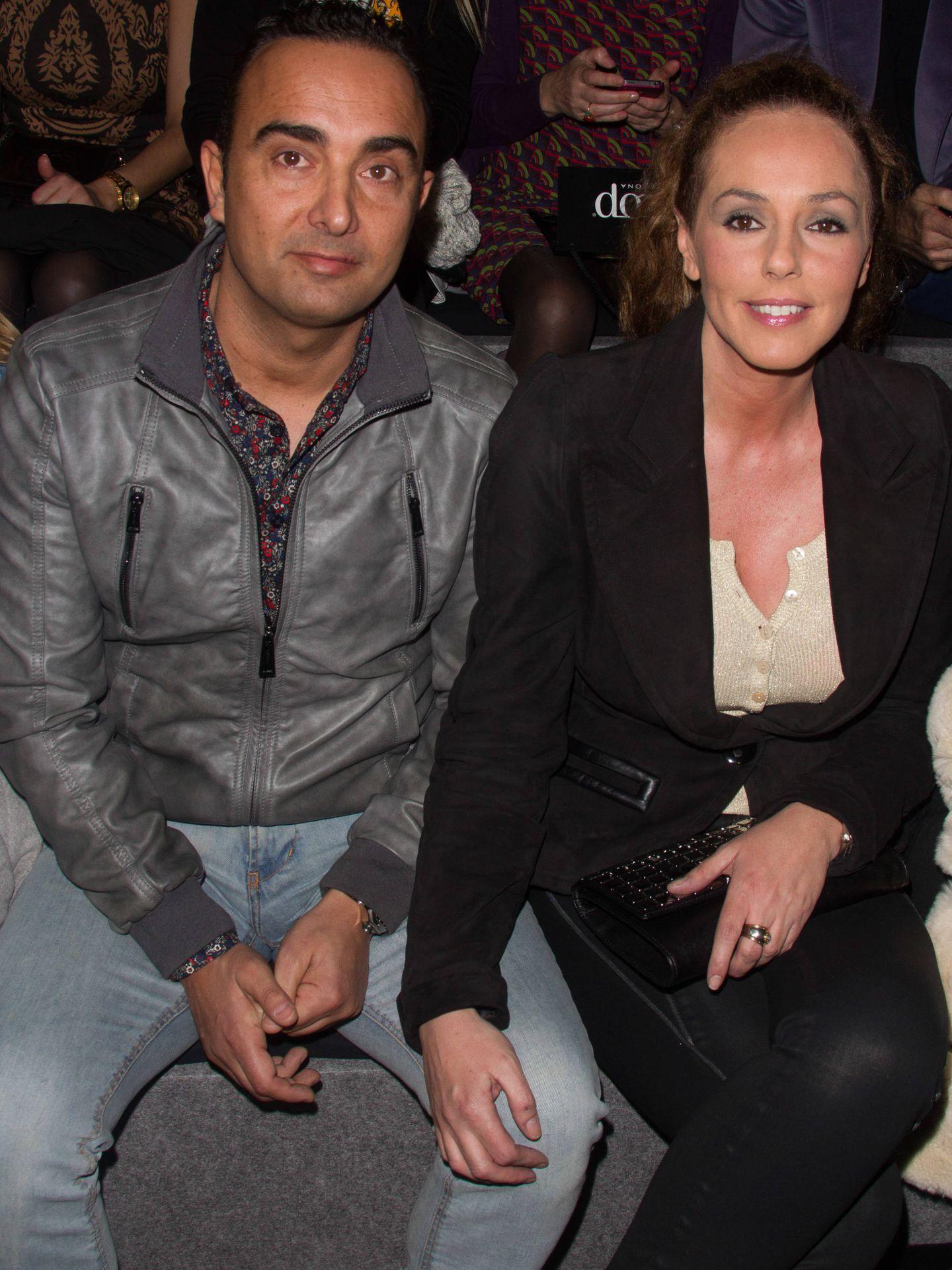 Rocío Carrasco y su marido, Fidel Albiac. (Getty)